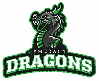 Emerald Dragons team badge