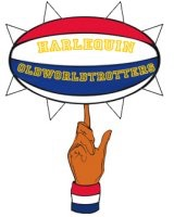 Harlequin Globetrotters team badge