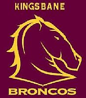 Kingsbane Broncos team badge
