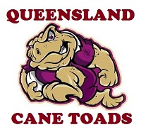 Queensland Cane Toads team badge