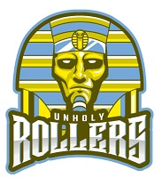 Unholy Rollers team badge